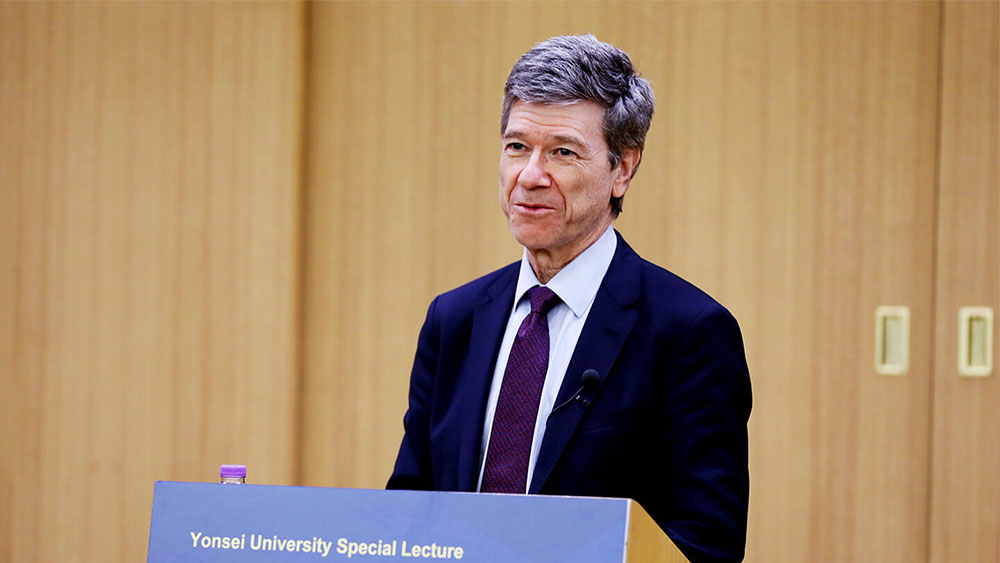 [Lecture]World-renowned Economist Jeffrey Sachs on Sustainable Development