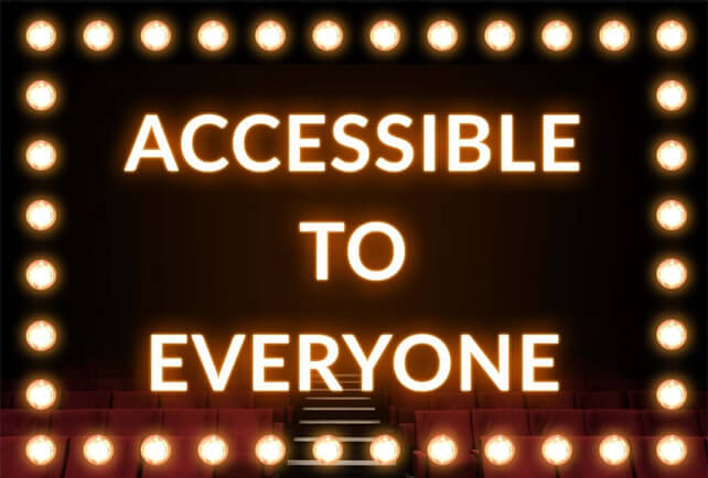 Performances Accessible to Everyone