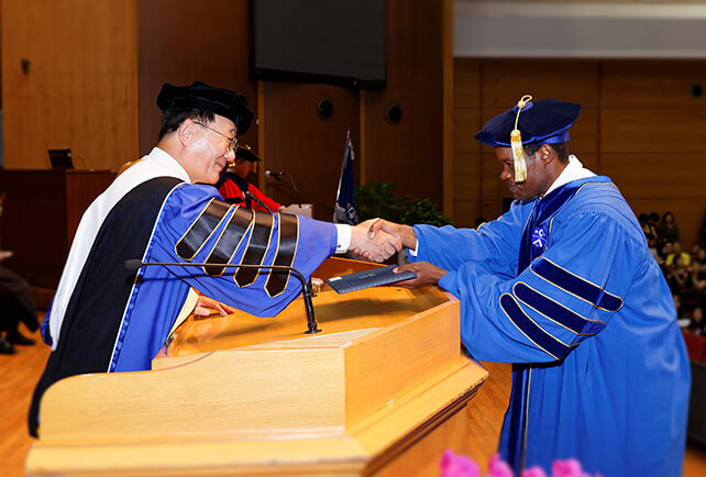 Global Institute of Theology's First Doctorates